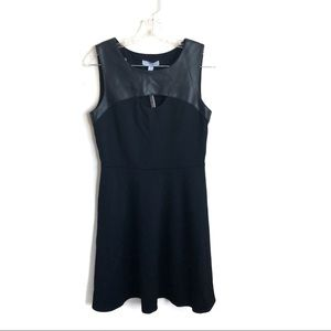 Dylan Gray NWT Faux Leather Skater Dress